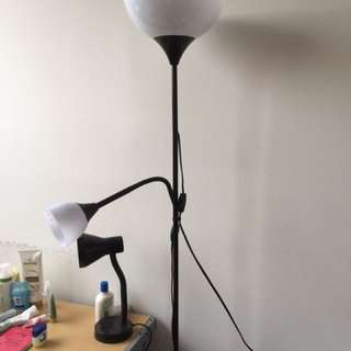 2 Lights Standing Lamp