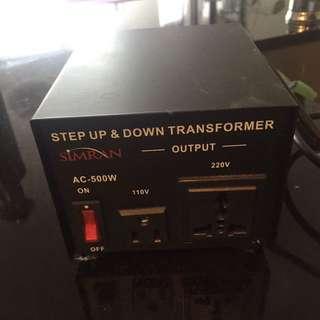 setup& down transformer