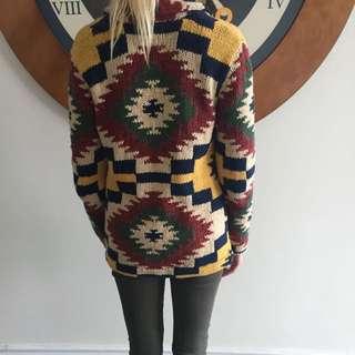Ralp Lauren Vintage Collection Sweater Blazer