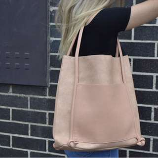 Dusty Pink Tote - Never Used!!