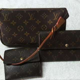 3 in one lv bag 2 wallets