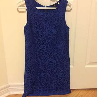 H&M Lace Shift Dress