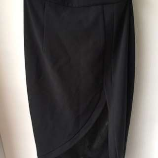 Black Sheike Skirt