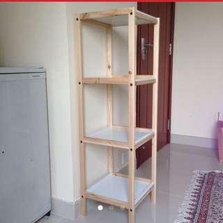 簡約白色muji風層架 3-tier Shelf
