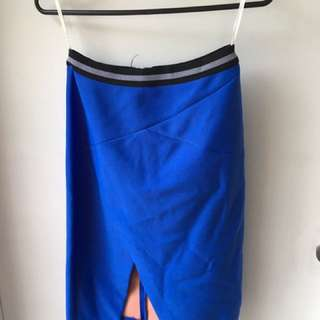 Blue Sheike Skirt