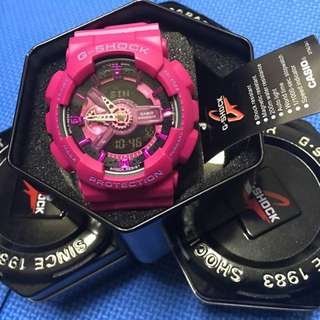 G-SHOCK S Series GMA-S110HT 桃紅