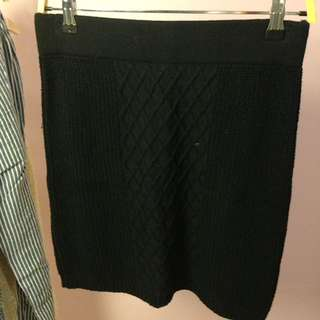 Knitted Bodycon Skirt