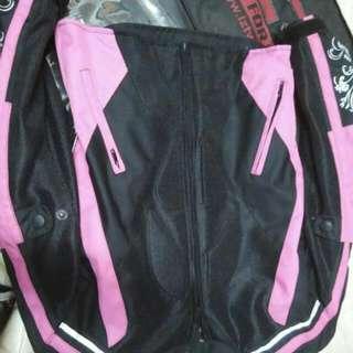 Baju Motor Pink