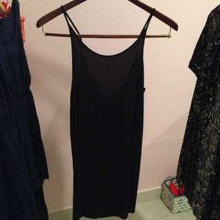 Glassons Black Scoopback Dress