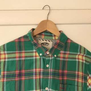 Vans Long Sleeve Plaid Shirt