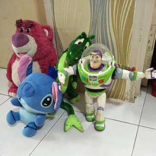 BUZZ LIGHT YEAR & LOTSO from Toy Story