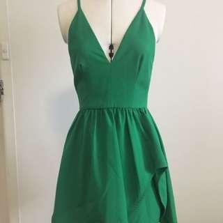 Emerald Green Seduce Dress