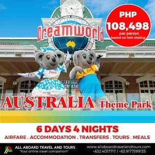 Australia Theme Park 6D4N All In Tour