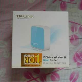 Tp Link 150mbps Wireless Nano Router