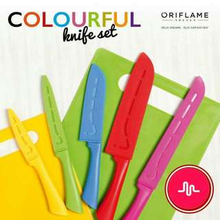 Colourfull Knife Set