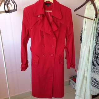 Red Long Coat