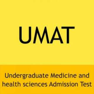 UMAT PREP MATERIALS AND EXAMS