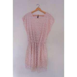 Big Size Lace Dress