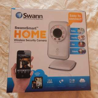 2 Swann ADS-450 Security Cameras/baby monitors, brand new in boxes