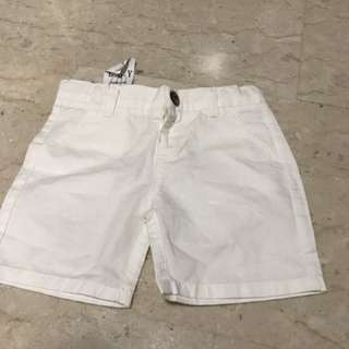 Bn With Tag Cream / White Short With Adjustable Waist