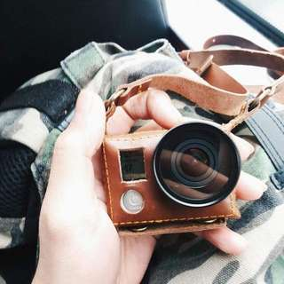 GoPro Hero 4 Leather Case