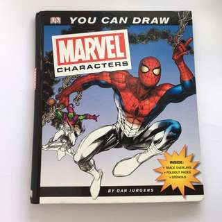 You Can Draw Marvel Characters By Dan Jurgen