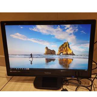 """ViewSonic 24"""" LED Monitor (Full HD & Dual HDMI) - Free Delivery"""
