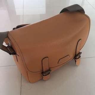 Olympus OMD Leather Bag