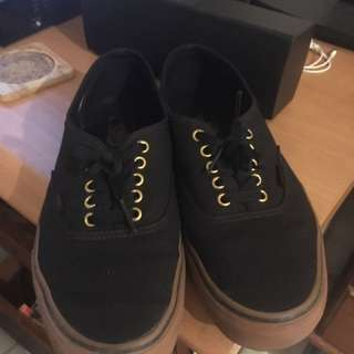 Vans Authentic Gold Eyelets Gumsole Original