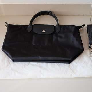 Longchamp Neo Medium Black