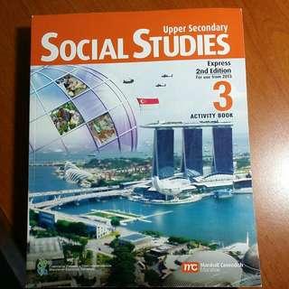 workbook Sosial Studies upper sec 3