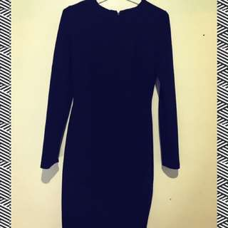 Mango Suit Black Dress