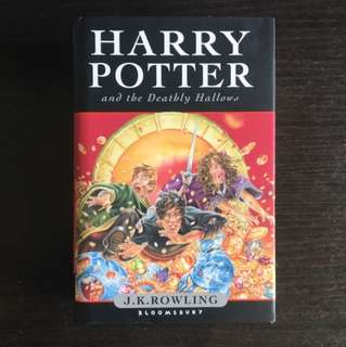 Harry Potter And The Deathly Hollows