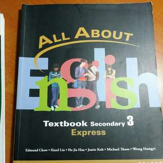 ALL About ENGLISH Sec 3