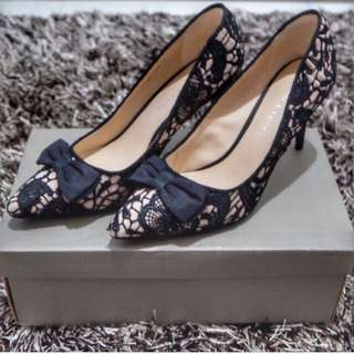 Charles & Keith Lace Heels