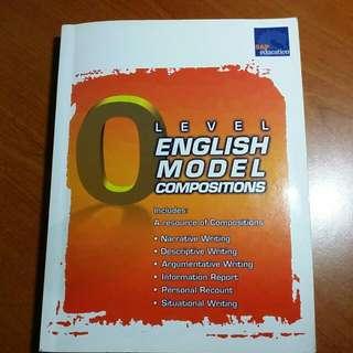ENGLISH model composition O Level