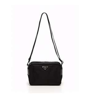 PRADA Shoulder Bag Pochette Black   Leather BT0658 USD 410 (SHIP FROM JAPAN)