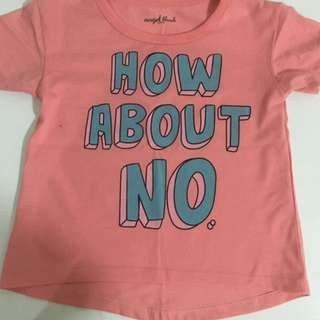 How About No Statement Shirt