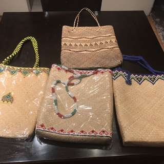 Indonesian Original Bamboo Bags