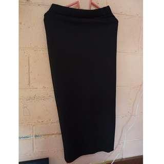 Pencil Skirt (Black)
