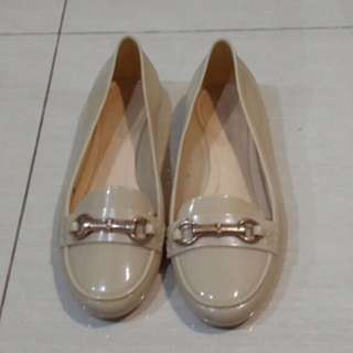 Creme Jelly Shoes