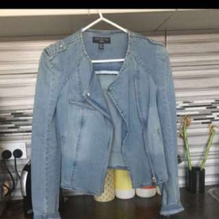 Forever New Denim Jacket 8
