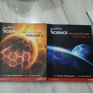 ALL About SCIENCE For Lower SEC