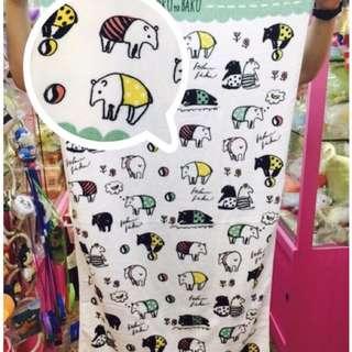 ✨全新現貨👉🏻日本雜貨 馬來貘大浴巾