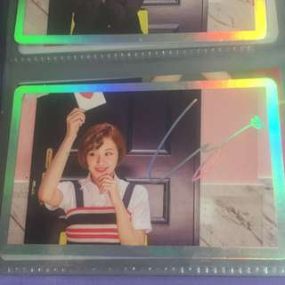 TWICE CHAEYOUNG SPECIAL CARD