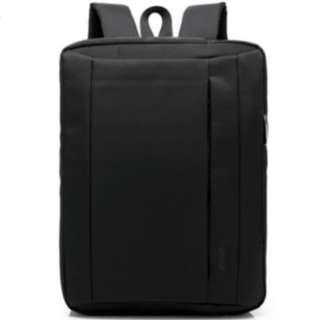 """黑色15"""" 時款公事包 (3 種孭法) Trendy briefcase with multi functions"""