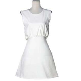 Back Overlay Dress