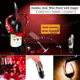 Wine Pourer with Stoppper