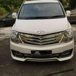 OWN DRIVE STAREX 2.5 DIESEL 11 SEATER