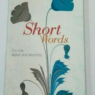 Short Words